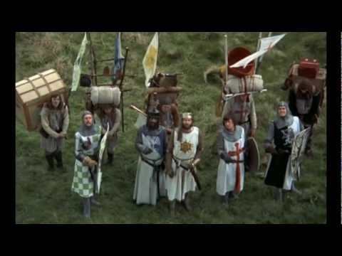 Monty Python - Holy Grail French Taunting video