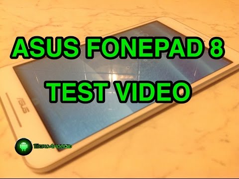 Asus FonePad 8 - prova video HD