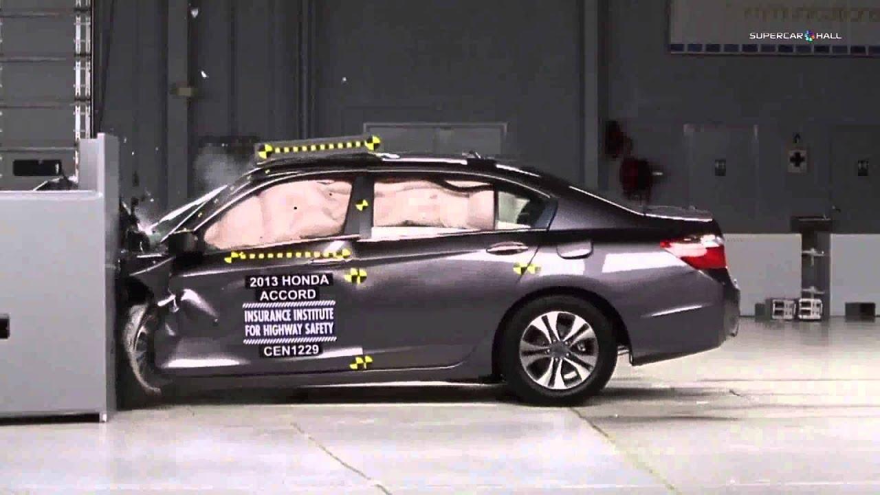 1999 honda accord crash test ratings for Honda crv crash test