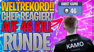 😱🤯🏆 WELTREKORD! Chef reagiert auf 46 Kill Runde | Fortnite Battle Royale