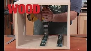 How to Install Drawer Slides in Cabinets -- WOOD magazine