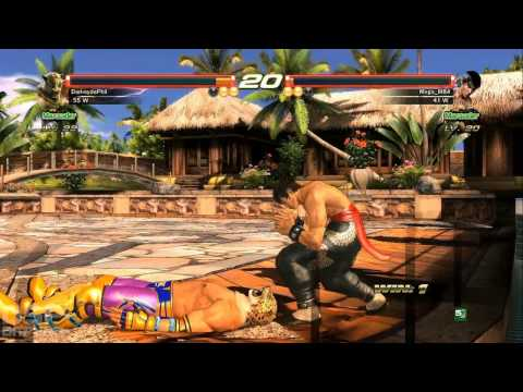 Tekken Revolution 2nd Set pt1