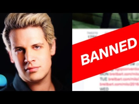 MILO  BANNED FROM TWITTER