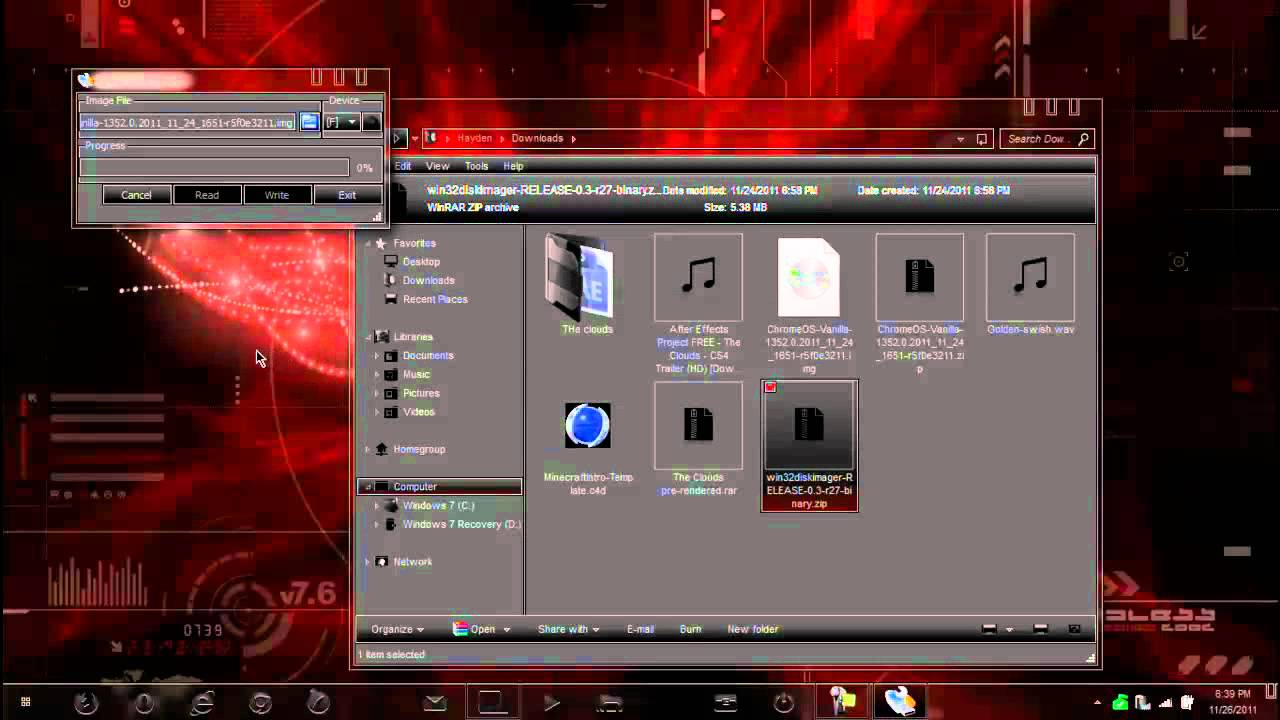 how to install an os on a external hard drive