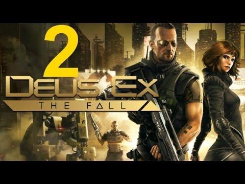 Deus Ex The Fall прохождение часть 2. Подпольный доктор.