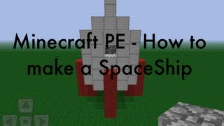 Minecraft PE - How to build a SpaceShip