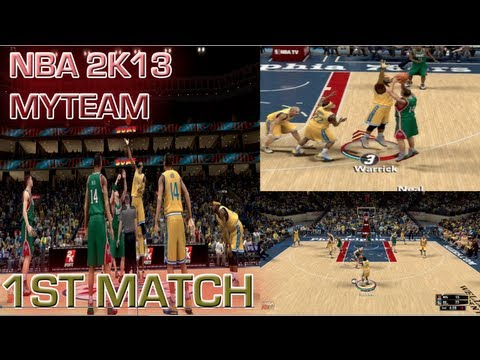NBA 2k13 MyTEAM Gameplay - Tips On Stopping The 3 Pointers   Underrated Bronze Players   1st Match