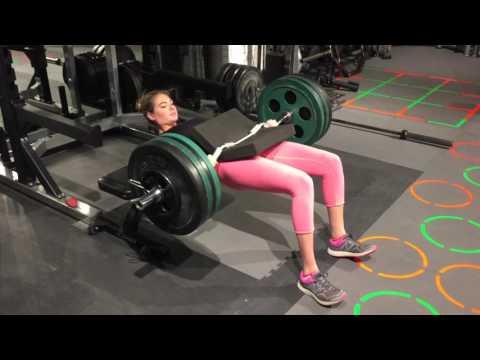 Kate Upton Hip Thrusts