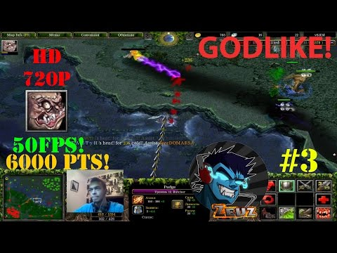 DoTa 6.83d Pudge, Butcher - GamePlay | Guide ★ Godlike! ★ #3