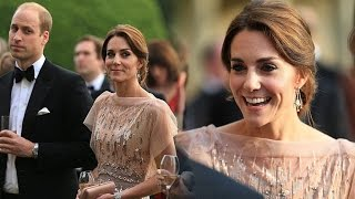 Kate Middleton Recycles her Stunning Jenny Packham Gown from 2011