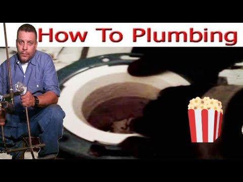 Toilet Flange PVC replacement Trick
