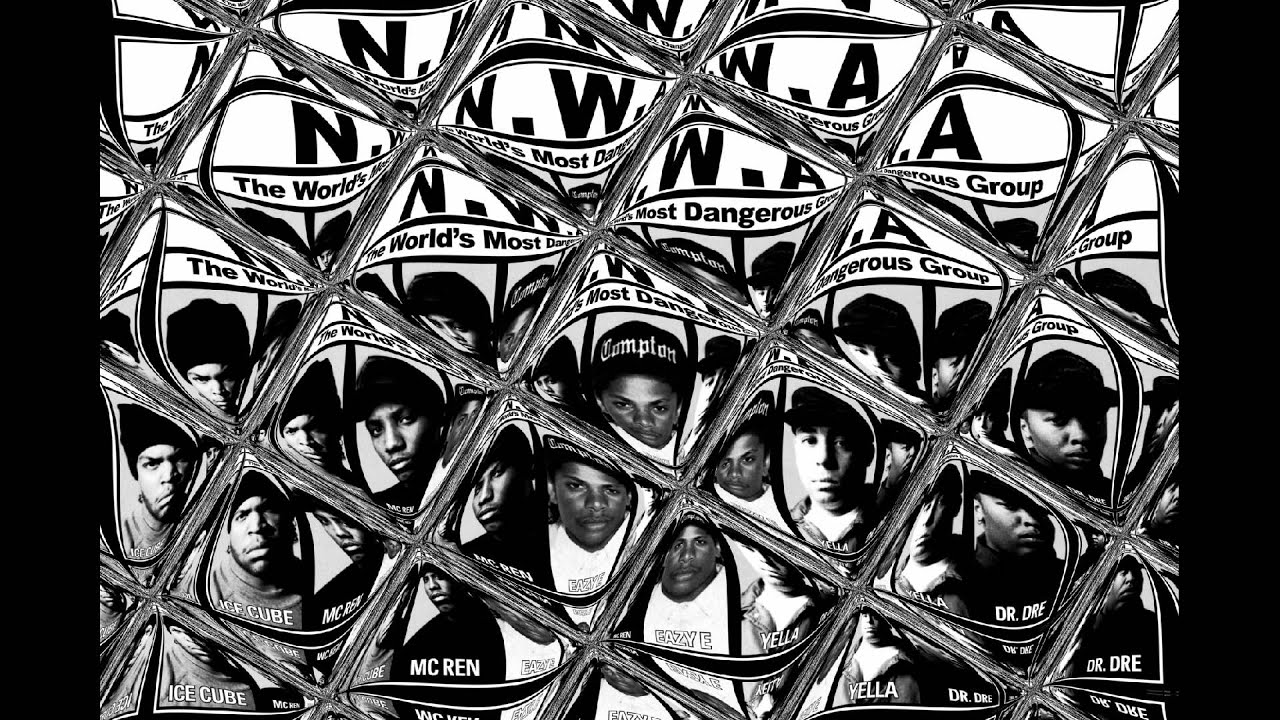 N.W.A.* N.W.A - Gangsta Gangsta / Quiet On Tha Set