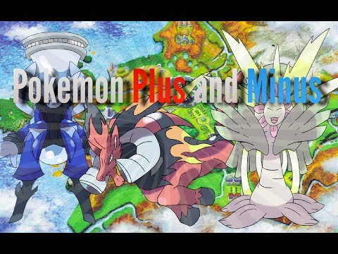 7TH GEN LEAKS - Pokemon Plus and Minus