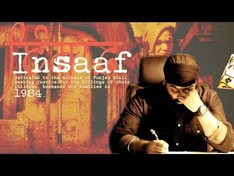 Insaaf - Chani Natt | dedicated to the victims of 1984 sikh riots in delhi | Latest Punjabi Songs
