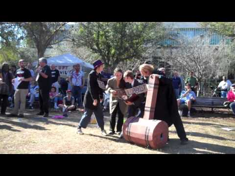 Occupy Gainesville Street Theater Skit Explains How Corporations Became 