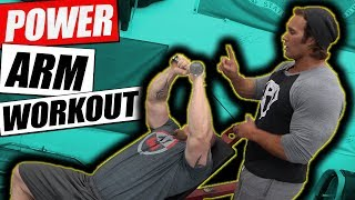 2 Exercise Power Arm Workout | Mike O'Hearn - Stan Efferding - Matt Wenning