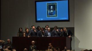 Globe's Crissed-Tards Get Worked Up About da Vinci's 'Savior of World'-Bid To $450,000,000