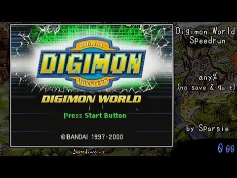 Digimon World - 1:30:57 Single Segment World Record Speedrun [audio Commentary] video