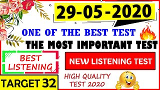 🔥 IELTS LISTENING PRACTICE TEST 2020 WITH ANSWERS | 29-05-2020