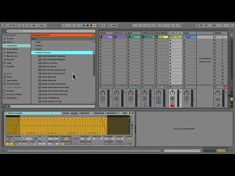 Audio to MIDI conversion in Ableton Live