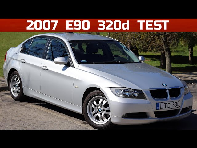2007 BMW 320d (E90) Start Up, Exhaust, and In Depth Review ...