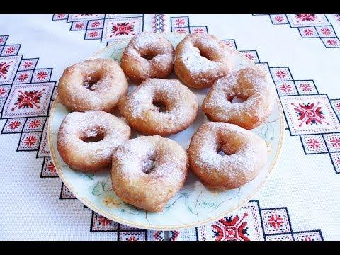 Как приготовить пончики - видео