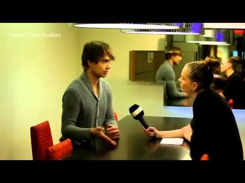 Alexander Rybak talks about relationships. Delfi TV, 18.01.2013.