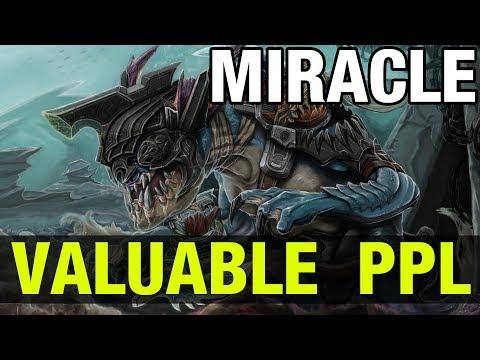 VALUABLE PPL !! - MIRACLE SLARK - Dota 2