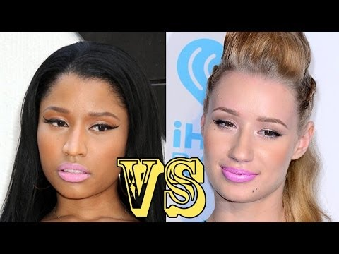 NICKI MINAJ VS IGGY AZALEA: BET AWARDS RAP FEUD
