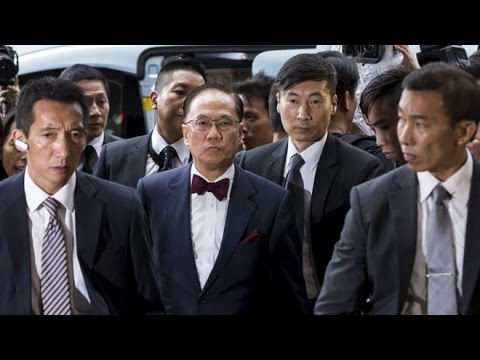 Hong Kong ex leader charged in corruption probe