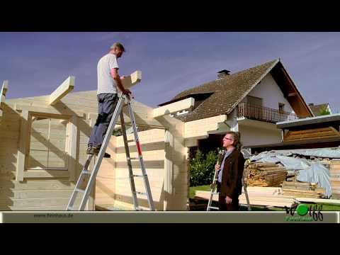 Aufbau Eines Wolff Finnhaus Gartenhaus