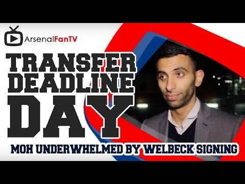 Transfer Deadline Day - Moh Underwhelmed By Welbeck Signing AFTV APP: IPHONE : http://goo.gl/1TNrv0 AFTV APP: ANDROID: http://goo.gl/uV0jFB AFTV ONLINE SHOP ...