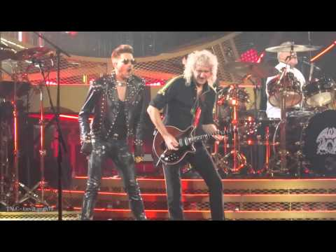 TALC HD - Queen + Adam Lambert - Now I'm Here - Air Canada Centre - Toronto, CA