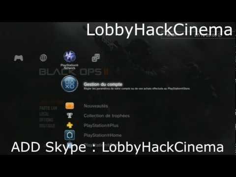 Fr   BO2   HACK/LOBBY - prestige, Titre & Embleme, Arme en DIAMANT [PS3 & XBOX + PC ]