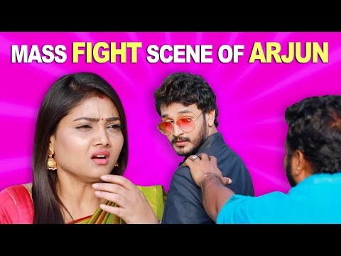 Mass Fight Scene of Arjun | ROJA | ரோஜா | Priyanka | SibbuSuryan | Saregama TVShows Tamil | Sun TV