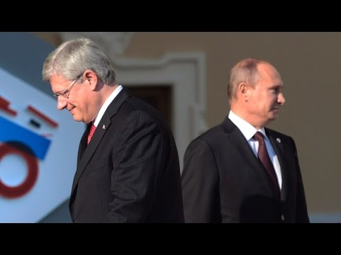 Canada Wants War With Russia