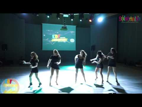 Jessica Hernandez Bootcamp Group Dance Performance - EDF 2016
