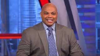 Charles Barkley & Shaquille O'Neal on Los Angeles Lakers vs Oklahoma City Thunder Halftime Report