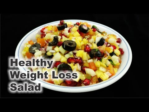 Tasty & Healthy Vegetable Fruit Salad for Easy and Quick Weight Loss