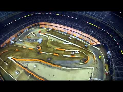 SST ROBBY GORDON Qualcomm RePLAY XD Round 5 @ San Diego Qualcomm Stadium
