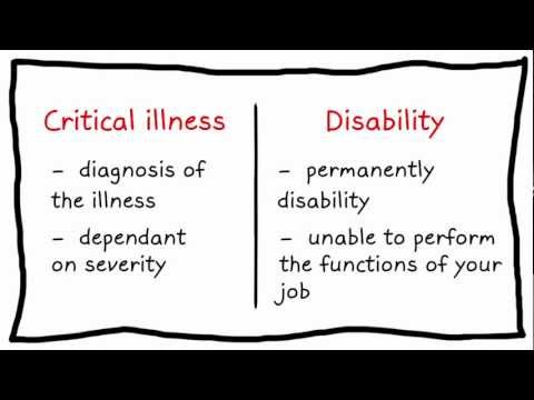 Whiteboard Wednesday - What's The Difference Between Disability & Critical Illness Cover?