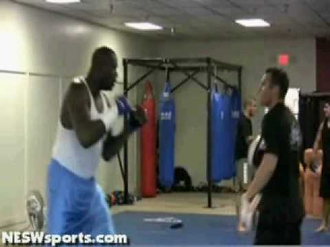Shaq MMA training Image 1