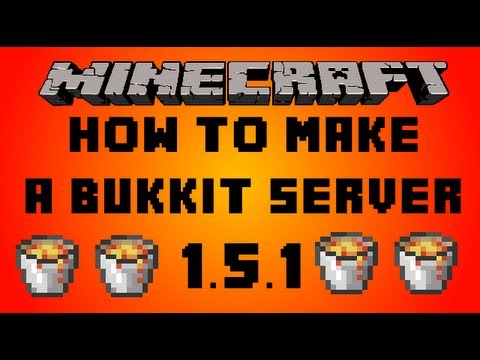 Minecraft   How to make a Bukkit server   1.5.2 [SUPER EASY]