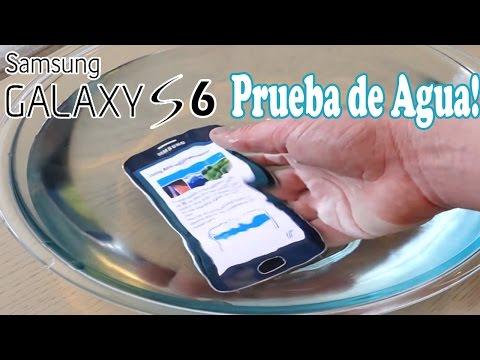 Samsung Galaxy S6 | Prueba de Resistencia al Agua!