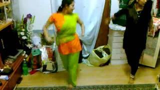 sanam & Oporna dance rehearsal