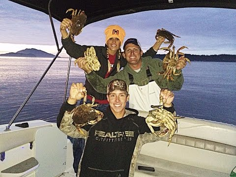 Dungeness Crabbing in the Puget Sound