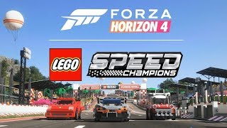 Forza Horizon 4 - First 35 minutes of LEGO Speed Champions Expansion