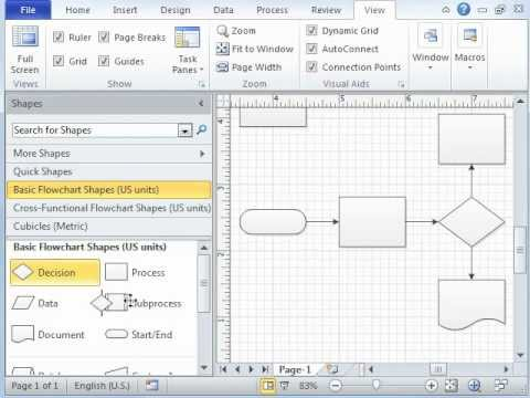 Microsoft Visio Tutorial - Video 1 of 3 Introduction