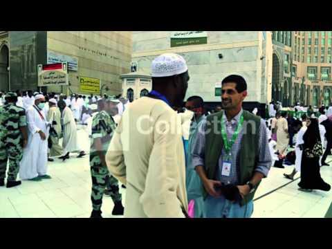 SAUDI ARABIA: MUSLIM PILGRIMS MAKE WAY TO HAJJ