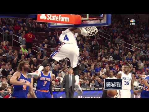 New York Knicks vs Philadelphia 76ers - April 8, 2016